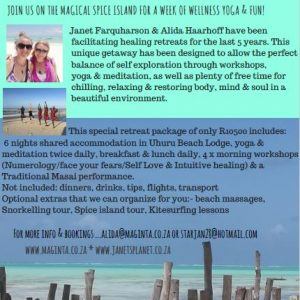 Zanzibar yoga wellness retreat